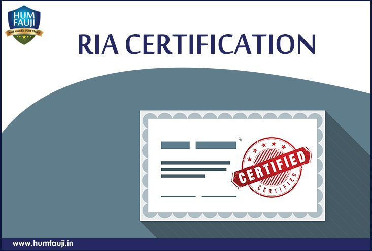 RIA Certification- humfauji.in