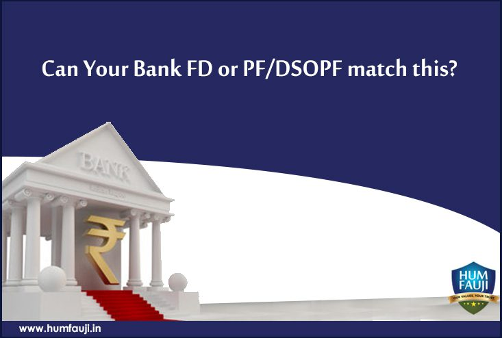 Can Your Bank FD or PFDSOPF match this
