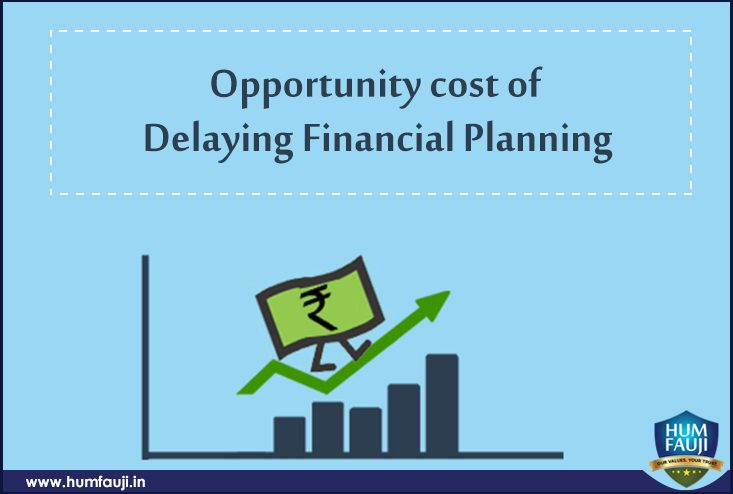 Opportunity Cost of Delaying Financial Planning-humfauji.in