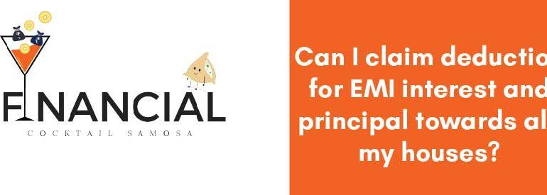 claim deducation for EMI Interest