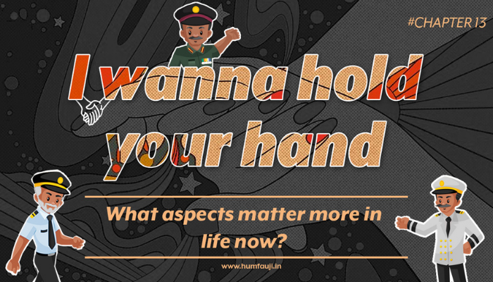 I wanna hold your hand - What aspects matter more in life now?